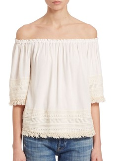 Ella Moss Lilita Off Shoulder Top