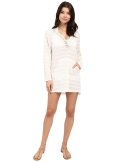 Ella Moss Mazatlan Long Sleeve Tunic Cover-Up