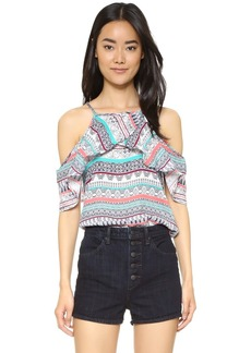 Ella Moss Oceana Cold Shoulder Blouse