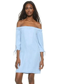 Ella Moss Off Shoulder Chambray Dress