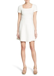 Ella Moss Rib Short Sleeve A-Line Dress