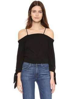 Ella Moss Solid Off Shoulder Blouse