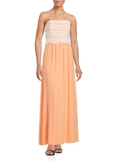 ELLA MOSS Strapless Maxi Dress