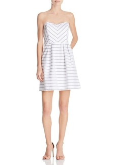Ella Moss Striped Strapless Dress - 100% Bloomingdale's Exclusive