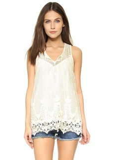 Ella Moss Thistle Lace Blouse