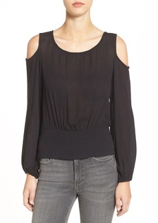 Ella Moss Tie Back Cold Shoulder Top
