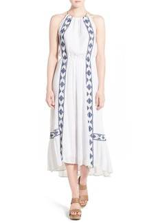 Ella Moss 'Usiku' Embroidered Maxi Dress