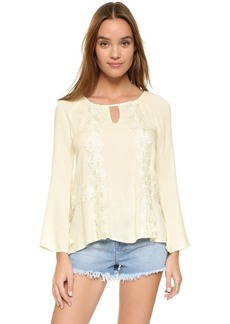 Ella Moss Valentina Long Sleeve Blouse