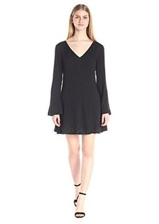 Ella moss Women's Dina Bell Sleeve Dress
