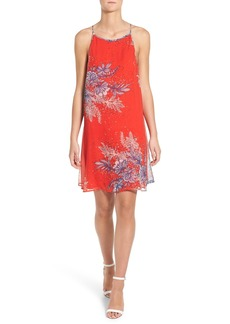 Ella Moss 'Zaneen' Floral Print Silk Dress