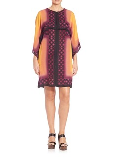 Etro Printed Silk Layered Dress