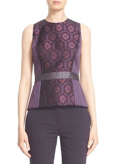 Etro Sleeveless Medallion Jacquard Top
