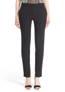 Etro Stretch Wool Pants