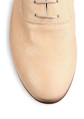 Tod's Crackled Leather Dress Shoes