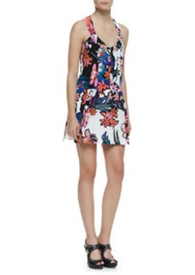 Nanette Lepore Trendy Tropics Floral-Print Silk Dress   Trendy Tropics Floral-Print Silk Dress