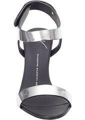 Giuseppe Zanotti Plated Ankle-Strap Sandals