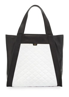 Foley + Corinna Cushion Quilted Leather Tote Bag