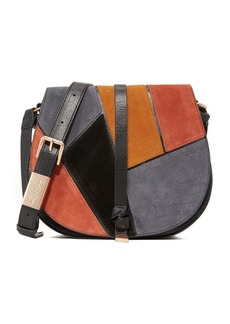 Foley + Corinna Daisy Patchwork Saddle Bag