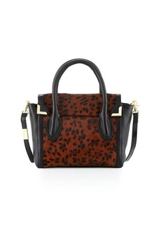 Foley + Corinna Frankie Calf-Hair Flap Satchel Bag