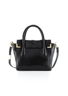 Foley + Corinna Frankie Leather Flap Satchel Bag