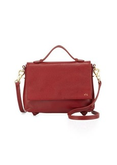 Foley + Corinna Gigi Leather Flap Crossbody Bag
