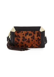 Foley + Corinna Portrait Calf-Hair Crossbody Bag