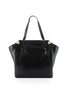 Foley + Corinna Portrait Leather Shopper Tote Bag