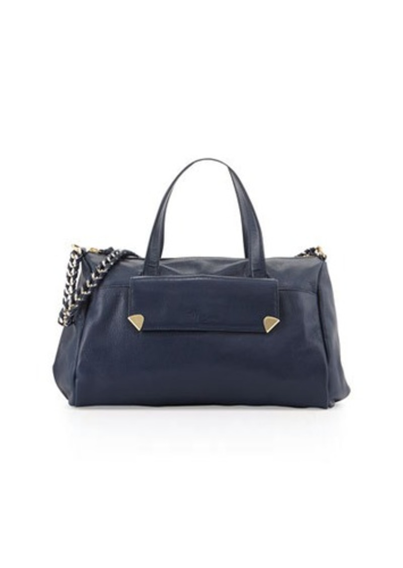 Foley + Corinna Unchained Pebbled Leather Duffel