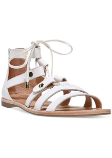 Franco Sarto Baxter Lace-Up Flat Sandals Women's Shoes