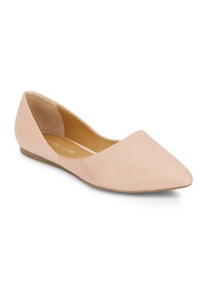 Franco Sarto Heath Leather Point Toe Flats