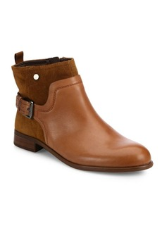 Franco Sarto Marta Leather Ankle Boots