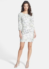 French Connection Animal Spot Sequin Body-Con Dress