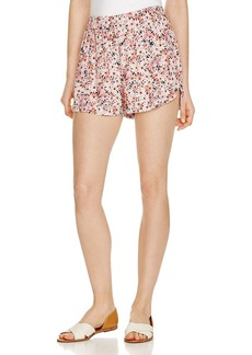 FRENCH CONNECTION Bacango Daisy Print Shorts