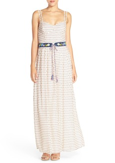 French Connection 'Bacongo' Dot Print Maxi Dress
