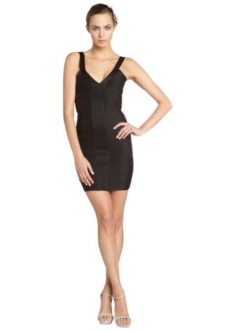 French Connection black stretch 'Foxy Faye' sleeveless dress