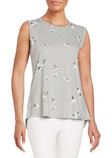 French Connection Blossom Jersey Tank Top