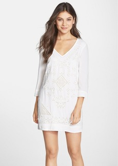 French Connection 'Camber Sands' Eyelet Shift Dress