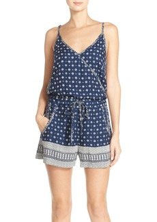French Connection 'Castaway' Floral Print Romper