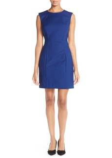 French Connection Cotton Blend Sleeveless Body-Con Dress