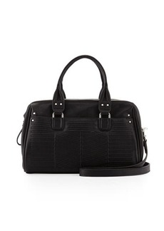 French Connection Dakota Quilted Satchel Bag