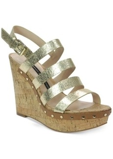 French Connection Deon Platform Wedge Sandals Women's Shoes
