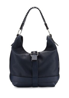 French Connection Edie Medium Perforated Hobo Bag