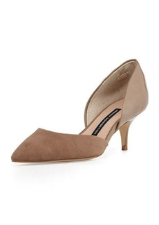 French Connection Effie Pointed-Toe d'Orsay Pump