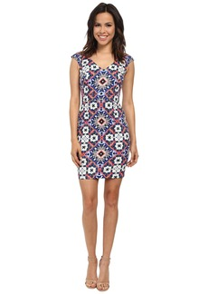 French Connection Electric Mosaic Cotton Dress