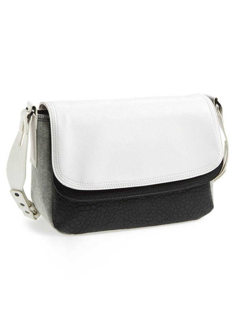 French Connection Faux Leather Crossbody Bag