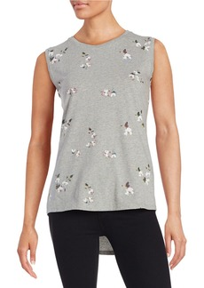 FRENCH CONNECTION Floral Knit Top