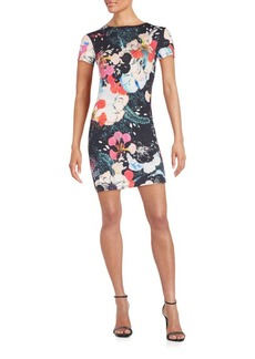 French Connection Floral-Print Dress