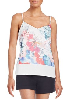 French Connection Floral-Print Tank