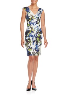 FRENCH CONNECTION Floral Sheath Dress