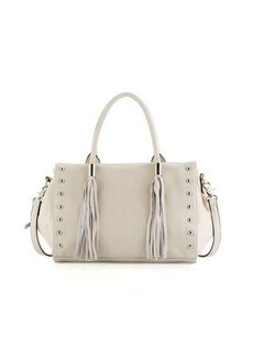 French Connection Hayden Faux-Leather Satchel